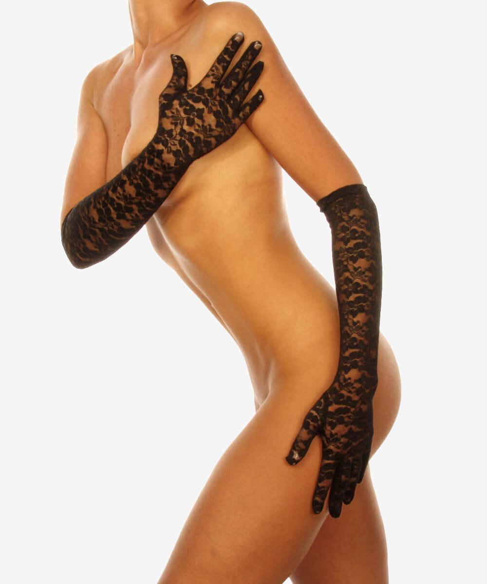 Женские сексуальные перчатки