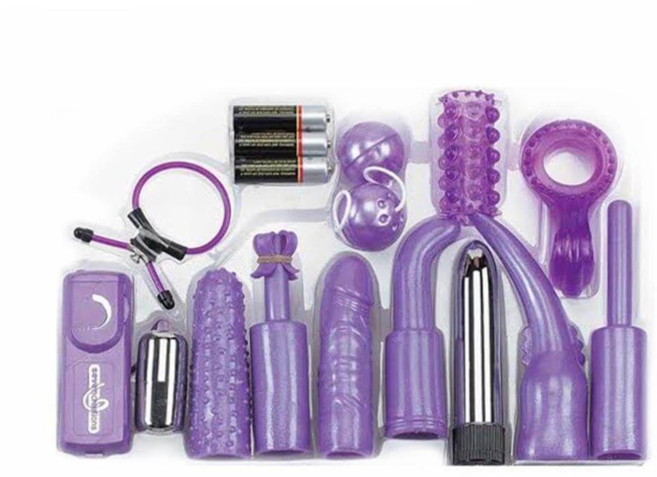 Dirty Dozen Couples Sex Toy Kit